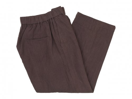 TOUJOURS Easy Trousers 42PLUM 【KM32MP02】