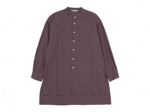 TOUJOURS Kurta Shirt PLUM【MM32NS01】