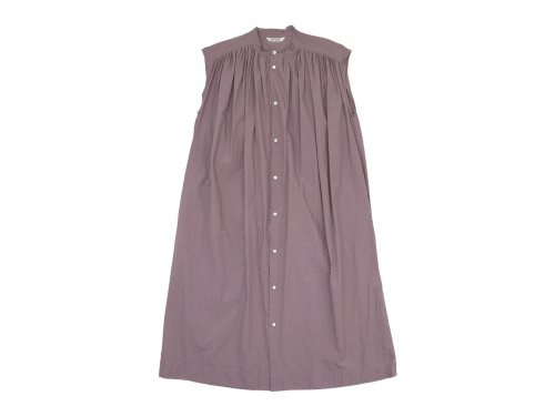 TOUJOURS Pleated Sleeveless Shirt Dress
