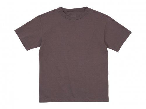TOUJOURS Big T-shirt 42PLUM 【LM32XC19】