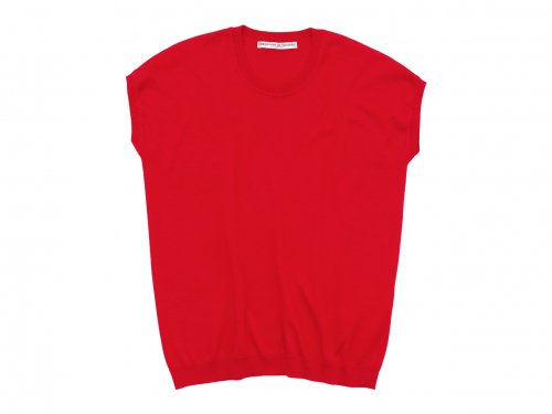 Charpentier de Vaisseau Klera Cotton Knit French Sleeve RED