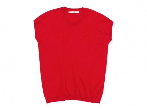 Charpentier de Vaisseau Klera Cotton Knit French Sleeve RED