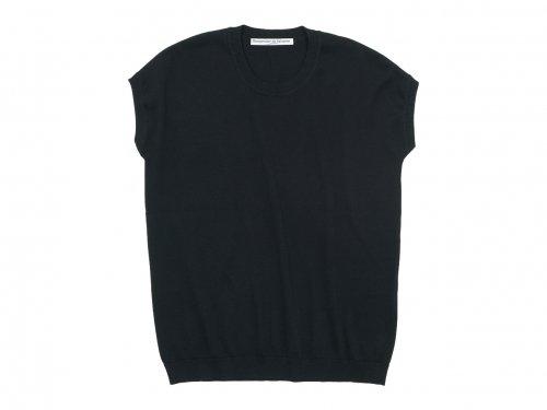 Charpentier de Vaisseau Klera Cotton Knit French Sleeve BLACK