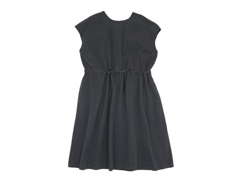 Atelier d'antan Albers(アルバース) No Sleeve Gathered one-piece DARK GRAY
