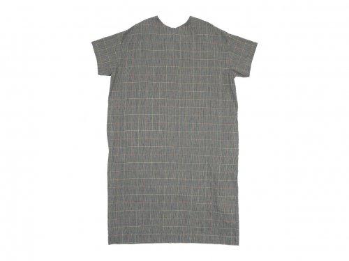 Lin francais d'antan Torr(トール) Short Sleeve Pullover one-piece Cotton Linen