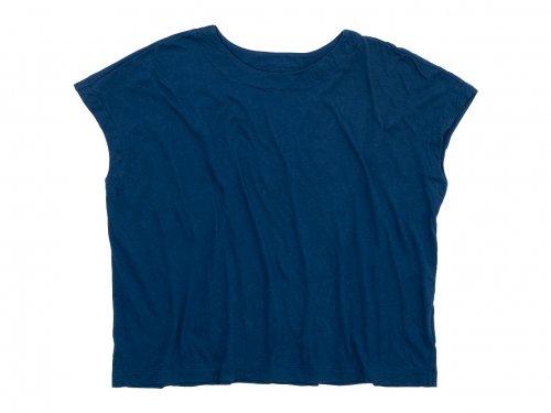 Atelier d'antan Peel(ピール) Cotton No Sleeve T-Shirt