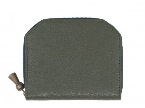 POSTALCO Kettle Zipper Wallet Thin Moss Green