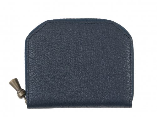 POSTALCO Kettle Zipper Wallet Thin Navy
