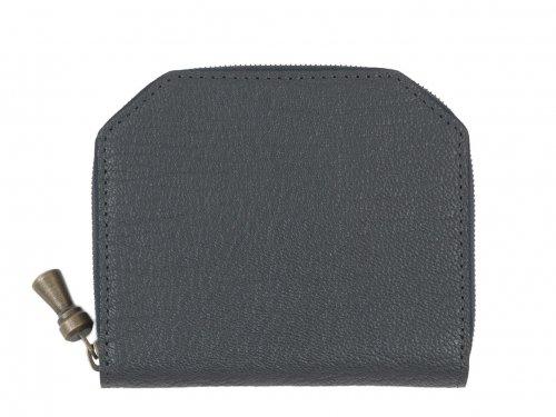 POSTALCO Kettle Zipper Wallet Thin Shade Gray