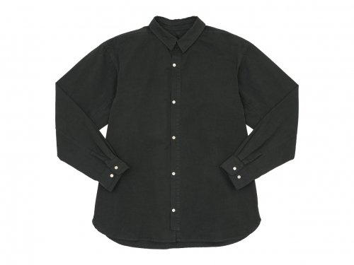 POSTALCO Free Arm Shirt 01 CHARCOAL GRAY