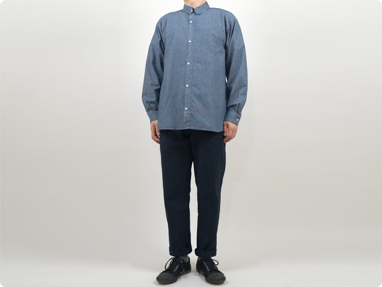 POSTALCO Free Arm Shirt 01 BLUE