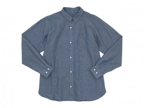 POSTALCO Free Arm Shirt 01 BLUE