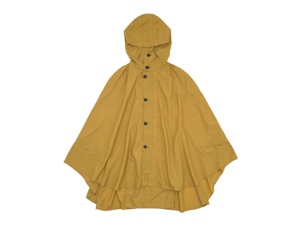 POSTALCO Rain Cape Yellow Ochre