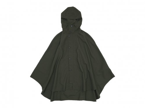 POSTALCO Rain Cape Mountain Green