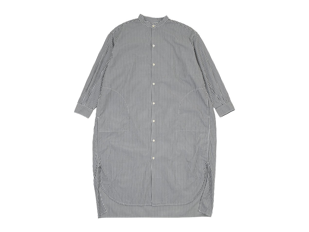 ordinary fits EDWARD STAND ONEPIECE STRIPE OFF WHITE