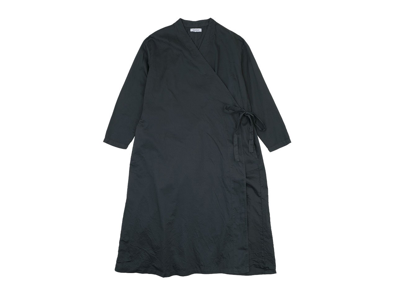 ordinary fits APRON ONEPIECE BLACK