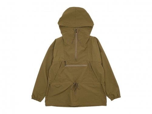 ENDS and MEANS Field Anorak BROWN BEIGE