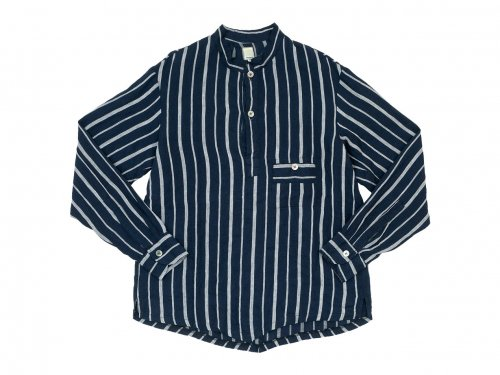 TATAMIZE P/O STAND COLLAR SHIRTS STRIPE