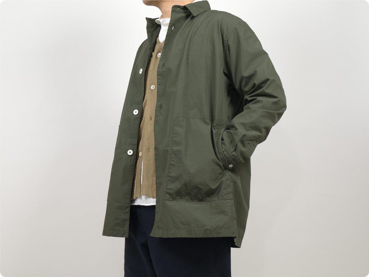 LOLO 30ウェザー シャツジャケット KHAKI