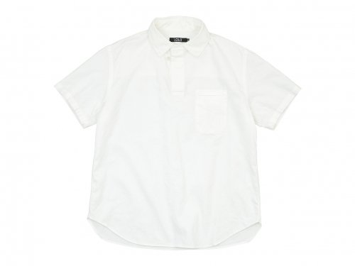 LOLO プルオーバー 半袖シャツ WHITE