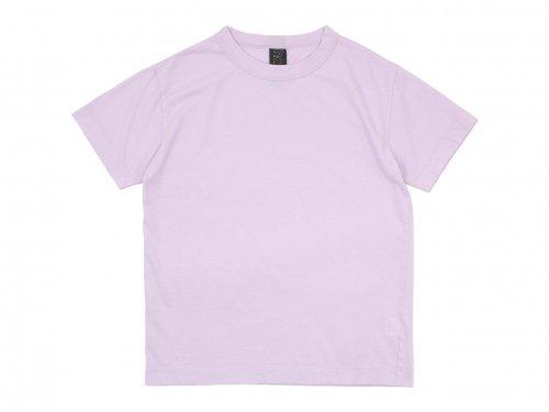homspun 30/1天竺 半袖Tシャツ ピンク 〔メンズ〕