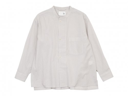 blanc drawer shirts cotton OFF x GRAY