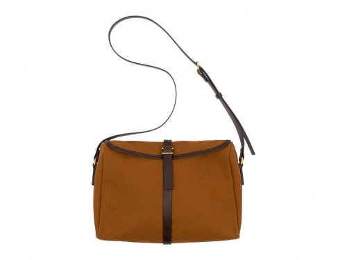 SOUTHERN FiELD INDUSTRiES Satchel Persimmon&Chocolate