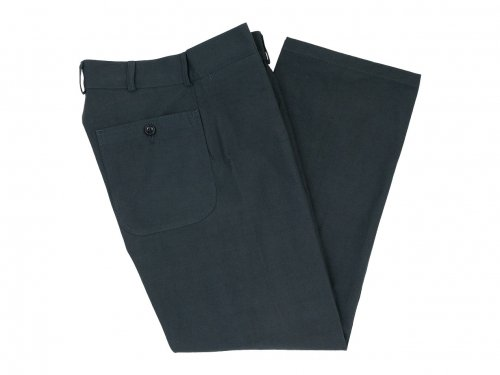 TUKI macaroni pants 34STEEL BLUE