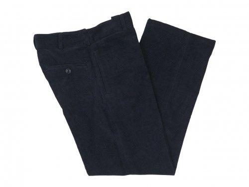 TUKI macaroni trousers corduroy 09BLACK