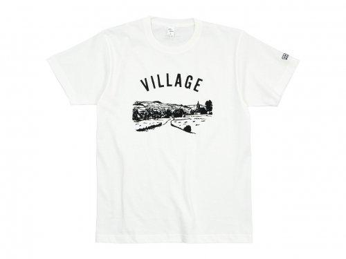【別注】 ENDS and MEANS Village Tee WHITE
