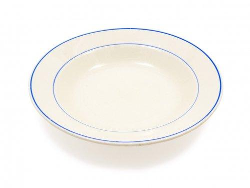 ARABIA ブルーライン スープ皿 02