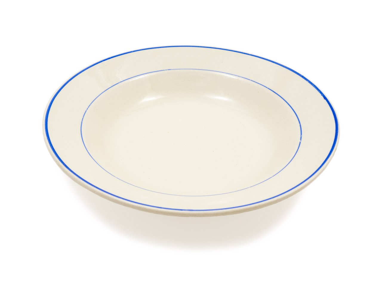 ARABIA ブルーライン スープ皿 04