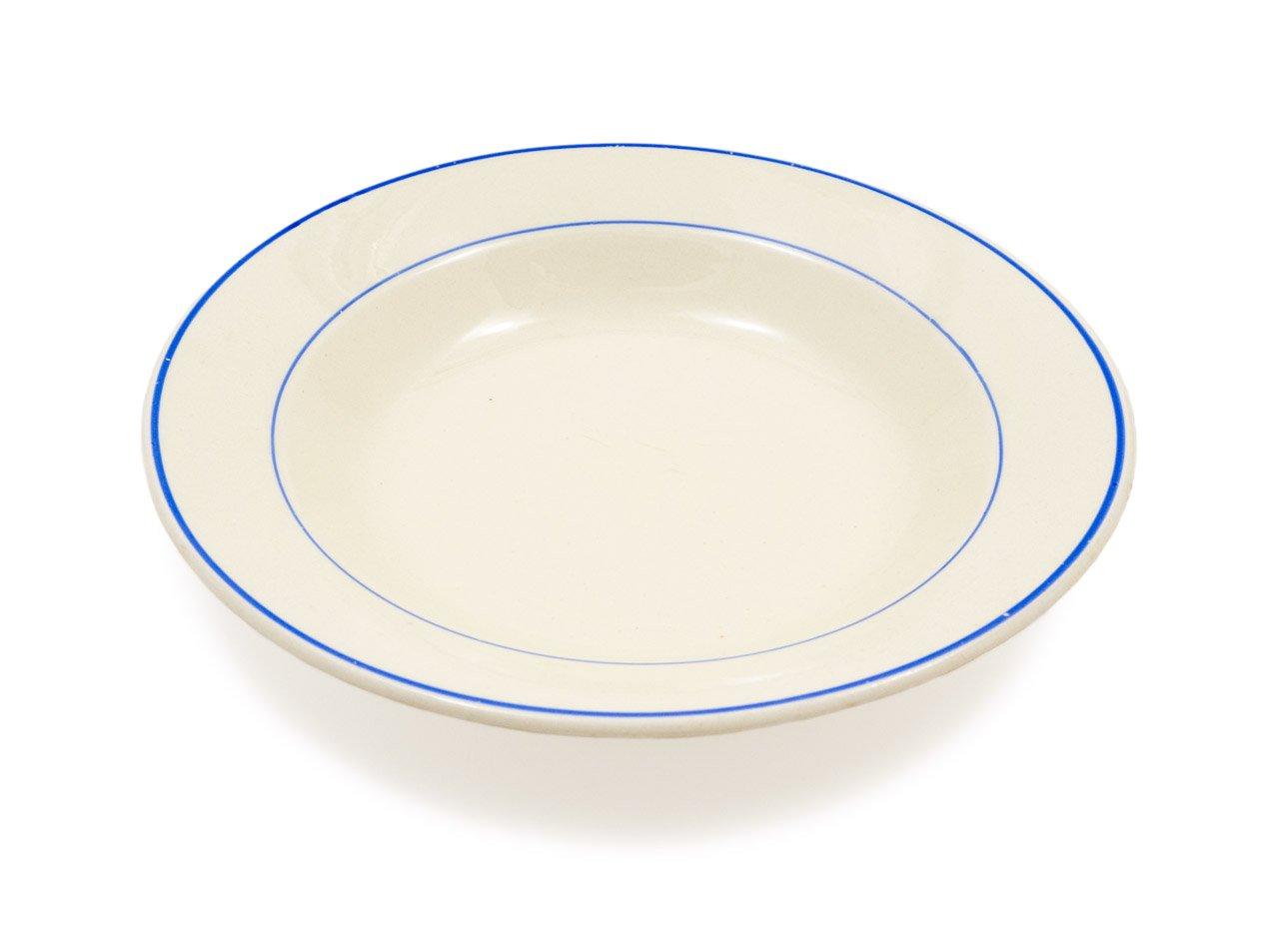 ARABIA ブルーライン スープ皿 05