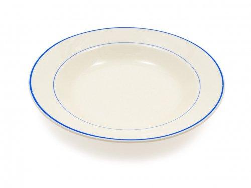 ARABIA ブルーライン スープ皿 06