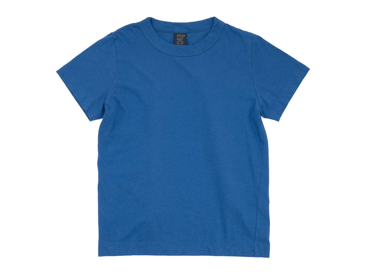homspun 30/1天竺半袖Tシャツ ブルー