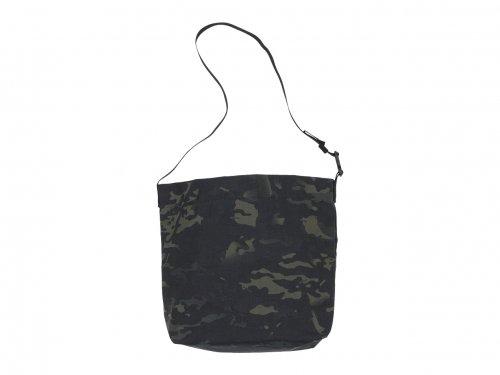 ENDS and MEANS Sholder Bag Cordura BLACK MULTI CAM
