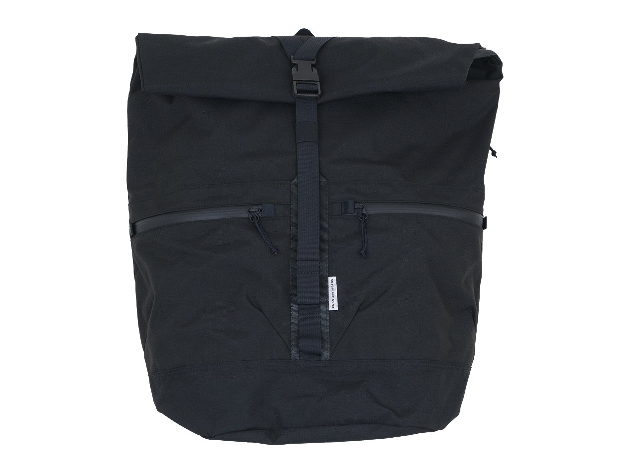 ENDS and MEANS Refugee Duffle Back Pack BLACK