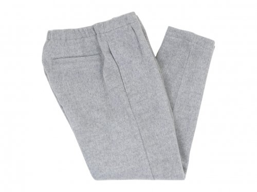 maillot mature melton easy trouser GRAY