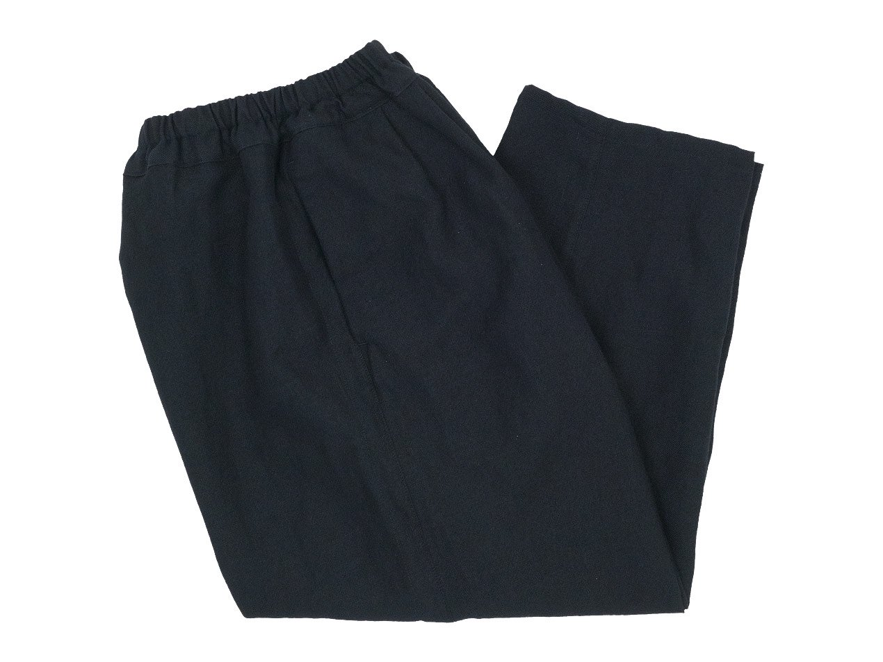 ordinary fits NARROW BALL PANTS WOOL LINEN BLACK