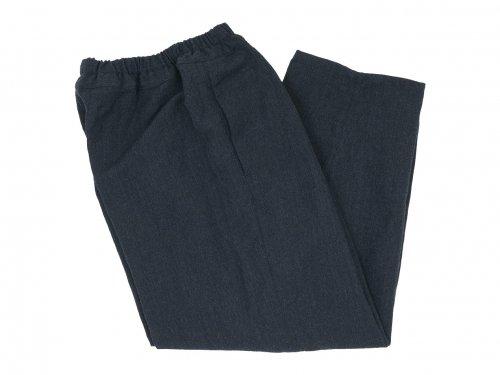 ordinary fits NARROW BALL PANTS WOOL LINEN GRAY