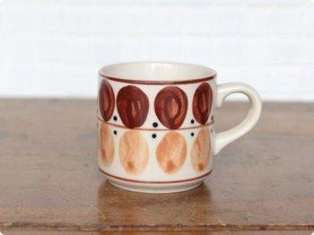 変わり水玉のカップ