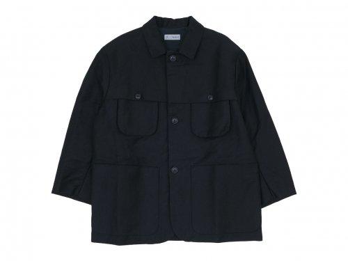 nisica フィッシングジャケット BLACK