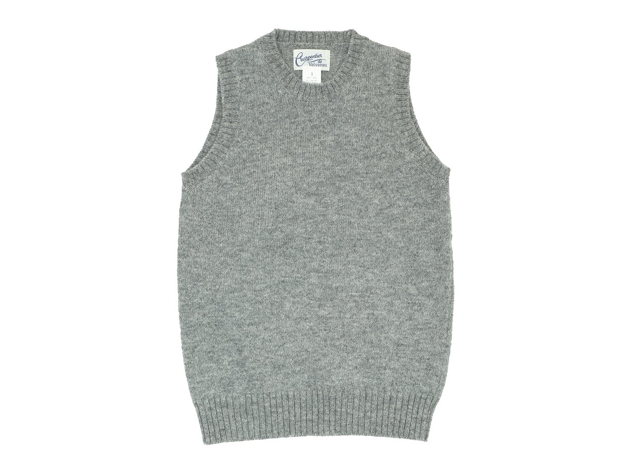 Charpentier de Vaisseau Kurson Wool Knit Vest GRAY