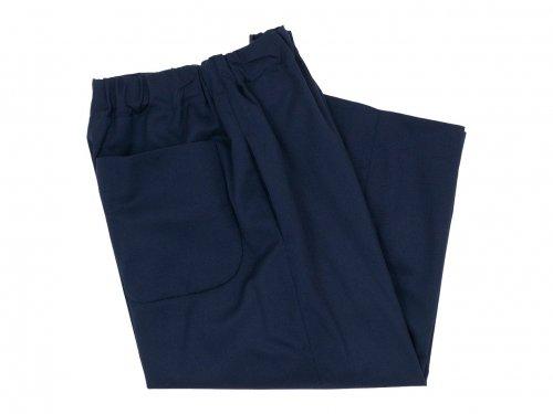 Atelier d'antan Ruff(ルフ) Wool pants NAVY