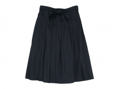 Atelier d'antan Certeau(セルトー) Ribbon Skirt BLACK