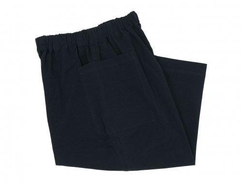Atelier d'antan Perriere(ペリエール) Cotton Pants BLACK