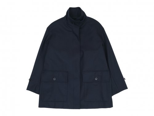 MARGARET HOWELL MILLED SERGE COAT 120Navy 〔レディース〕