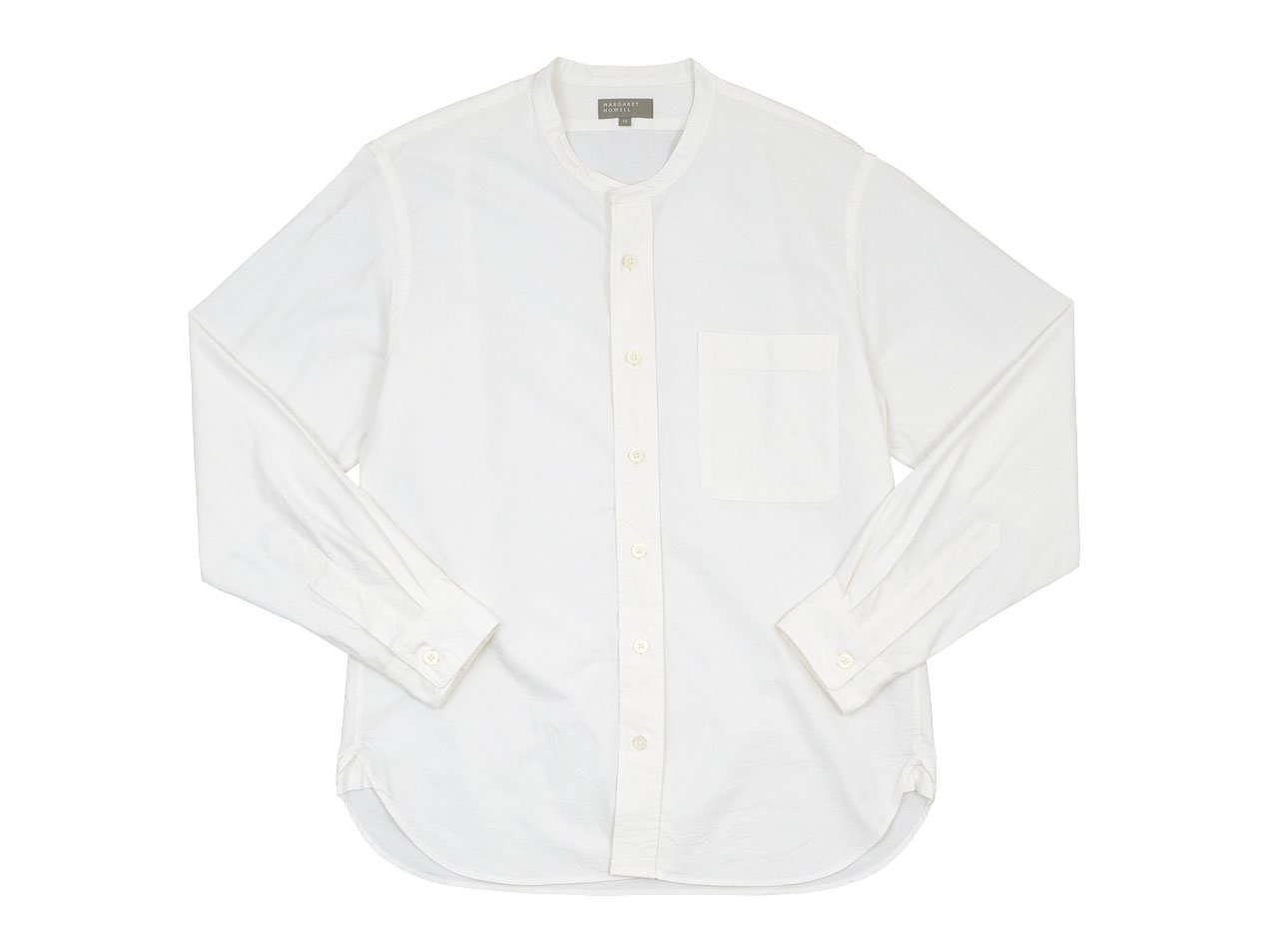 MARGARET HOWELL COTTON OXFORD SHIRTS 30White 〔メンズ〕