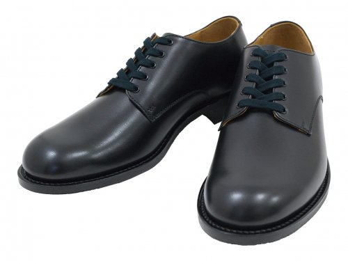 MARGARET HOWELL LEATHER LACE UP SHOES 10Black 〔メンズ〕