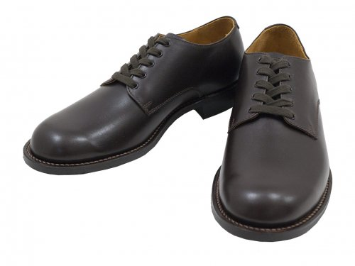 MARGARET HOWELL LEATHER LACE UP SHOES 50Brown 〔メンズ〕